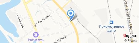 Мир Мебели на карте Хабаровска