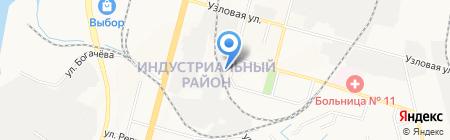 Автономия на карте Хабаровска