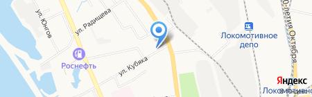 Фотография на карте Хабаровска