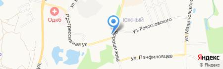ГСПК №235 на карте Хабаровска
