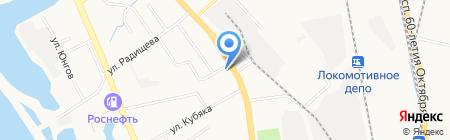 Расчетно-кассовый центр по обработке коммунальных платежей на карте Хабаровска