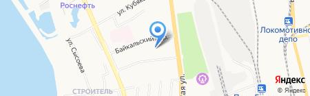 Ютта на карте Хабаровска