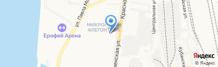 Лакомка на карте Хабаровска