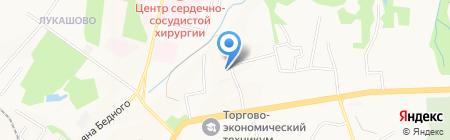 Краевая психиатрическая больница на карте Хабаровска