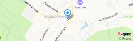 Начальная школа-детский сад №14 на карте Хабаровска