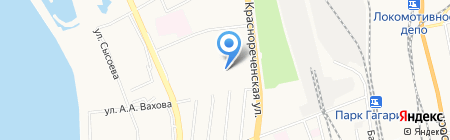 Семейная аптека на карте Хабаровска