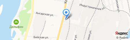 Альтернативное решение на карте Хабаровска