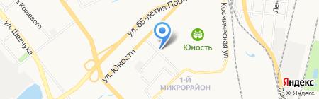 Радуга на карте Хабаровска