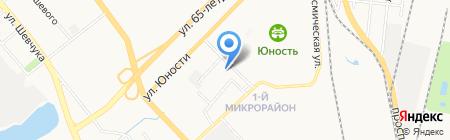 Бочонок на карте Хабаровска