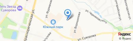 Мастерская по ремонту телерадиоаппаратуры на карте Хабаровска