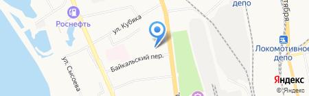 Управление МВД России по г. Хабаровску на карте Хабаровска