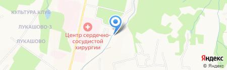 Аметист на карте Хабаровска