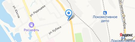 18 квартал на карте Хабаровска