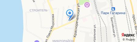 Супермастер на карте Хабаровска