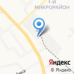 Альфа на карте Хабаровска