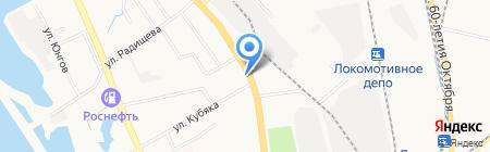 Пивариум на карте Хабаровска