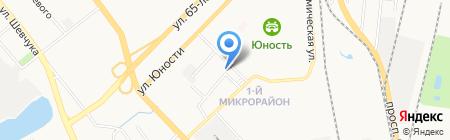 Орг-сервис на карте Хабаровска
