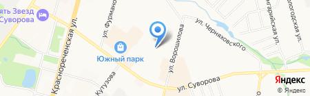 CLEVER на карте Хабаровска