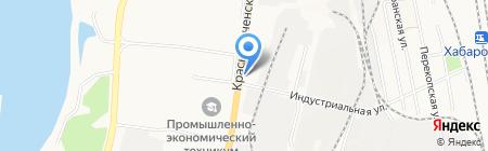 Цветочный магазин на карте Хабаровска