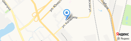 Благо на карте Хабаровска