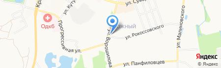 Маришка на карте Хабаровска
