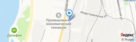 Мебель Град на карте Хабаровска