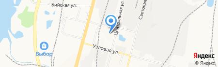 Лукошко на карте Хабаровска