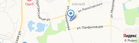 Пивасик на карте Хабаровска