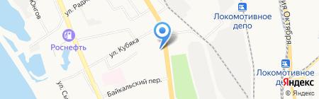СтройСервис 27 на карте Хабаровска