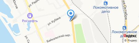 KUCHENBERG на карте Хабаровска
