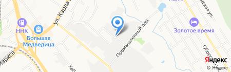 Востокстроймеханизация на карте Хабаровска