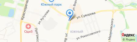 Корсар на карте Хабаровска