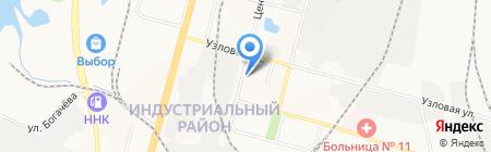 Даймонд-Энерго на карте Хабаровска