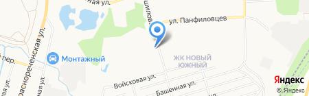 GSM-Сервис на карте Хабаровска
