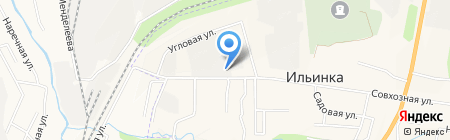 Рыбоперерабатывающее предприятие на карте Ильинки