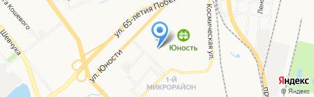 Детский сад №159 на карте Хабаровска
