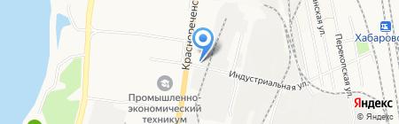 Авто+ на карте Хабаровска