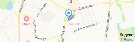 ИНВИТРО на карте Хабаровска