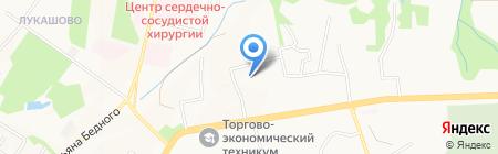 Хабаровская противочумная станция на карте Хабаровска