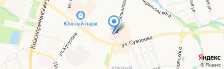 Центр оценки и продажи недвижимости на карте Хабаровска