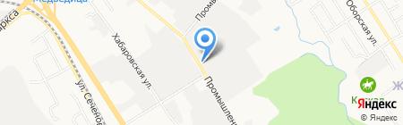 Амурская региональная буровая компания на карте Хабаровска