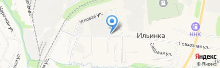 Супермаркет на карте Ильинки