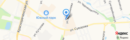 Нотариус Лимаренко Д.В. на карте Хабаровска