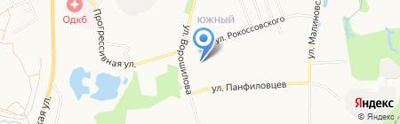 Детский сад №206 на карте Хабаровска