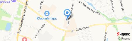 Дальавиатраст на карте Хабаровска