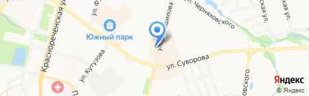 Диалог Плюс на карте Хабаровска
