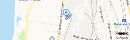 Магазин электротоваров и светотехники на карте Хабаровска