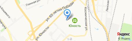 Городская поликлиника №16 на карте Хабаровска