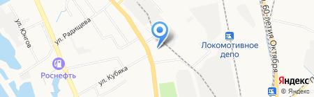 Мясо на карте Хабаровска