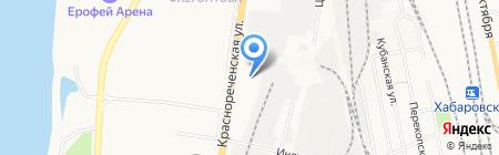 Магия серебра на карте Хабаровска